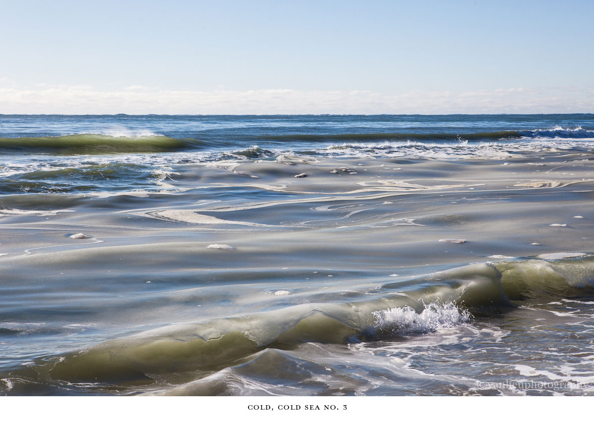Cold, Cold Sea | Nantucket | Van Lieu Photography | Slurpee Waves