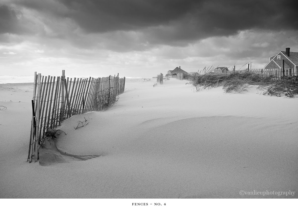 Fences | Nantucket | Beach | Van Lieu Photography 4