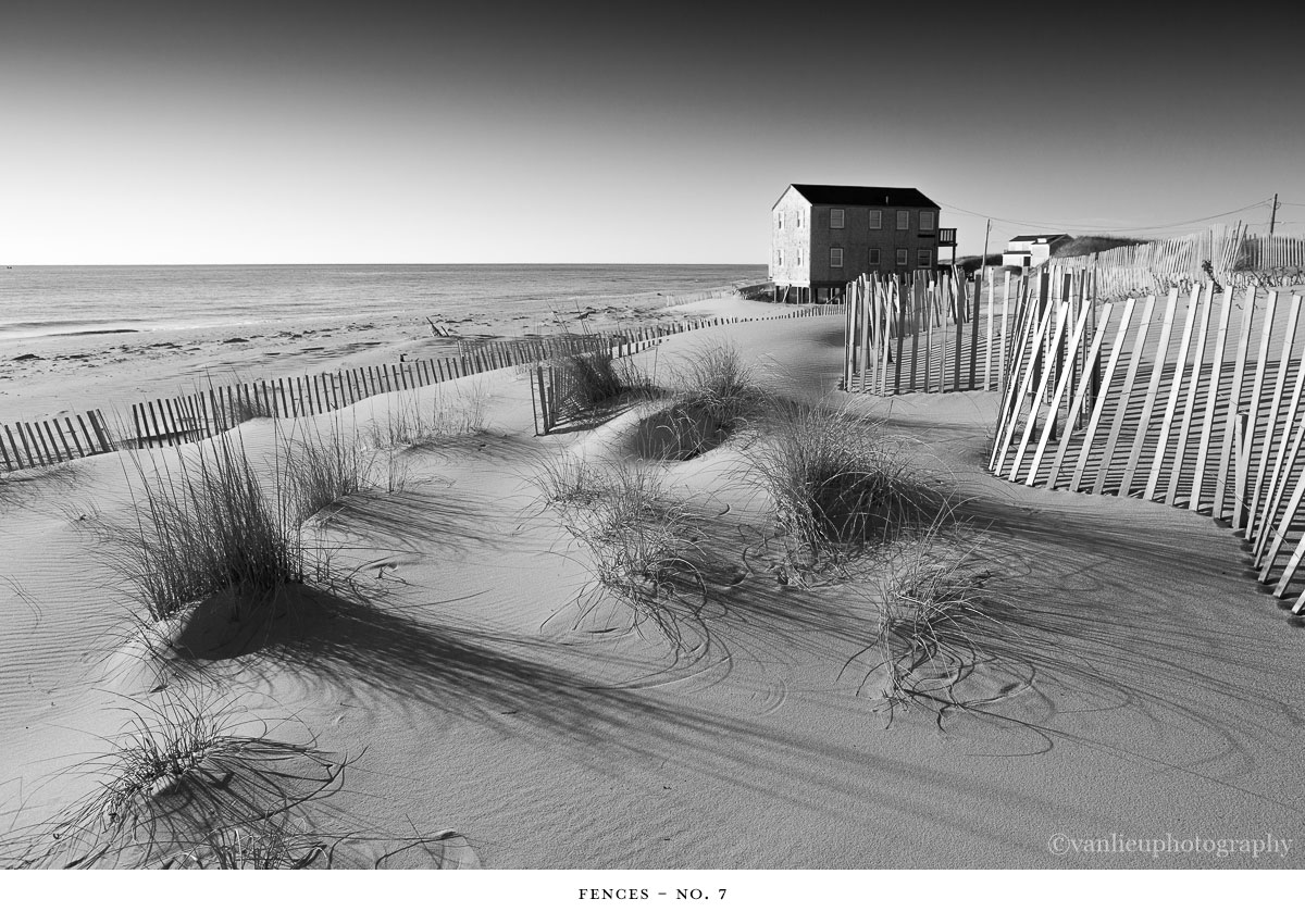 Fences | Nantucket | Beach | Van Lieu Photography 7