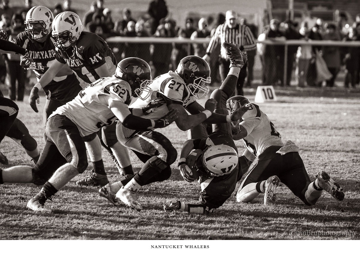Football | Nantucket Whalers| Van Lieu 10