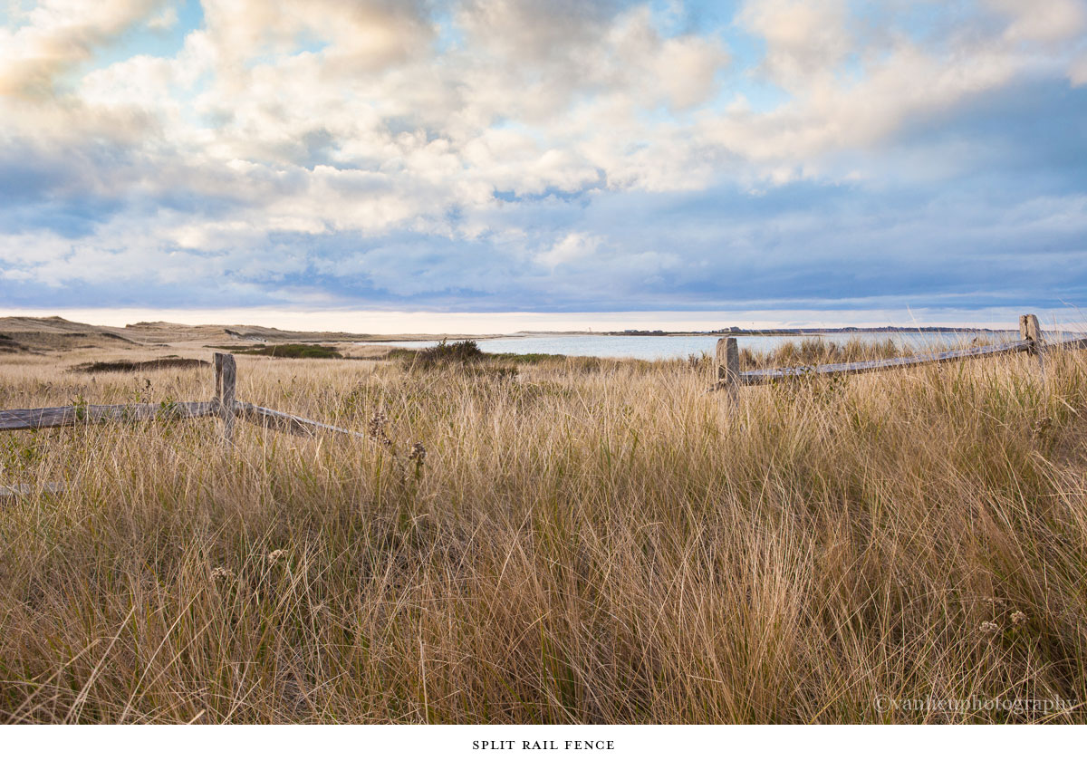 Nantucket Photography | Split Rail Fence
